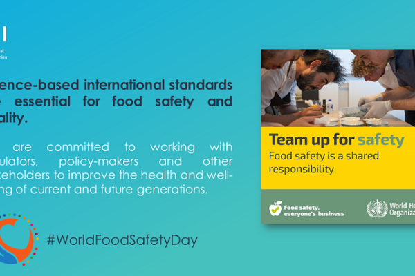 World Safety Day - 'Safe food now for a healthy tomorrow'.