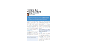 Feeding the Preterm Infant