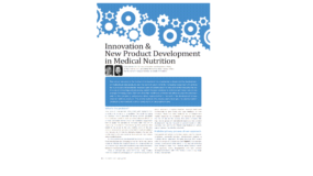 Innovation & New Product Development in Medical Nutrition