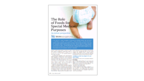 The Role of Foods for Special Medical Purposes: An infant perspective