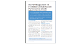 New EU Regulation on FSMPs for infants