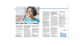 How medical nutrition can save the NHS money